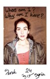 "An image from ""Take me to Jermany,"" a series of Polaroids of refugees taken by Charlotte Schmitz."