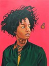 """Brittany Williams' """"Butterfly Effect (Red)."""""""