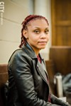 Shawanda McGee, who works with Teen Empowerment, was one of the Truth Commission's facilitators.