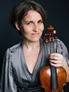 Violinist Theresa Salomon makes her Publick Musick debut with this weekend's concerts.