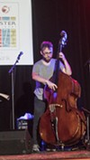 Bassist Mark Lewandowski and his trio played Christ Church on Saturday.