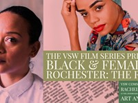 FILM-SPECIAL EVENT | 'Black & Female in ROC: The Remix'