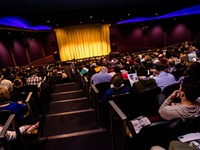 That theater experience, and people giggling, is what at-home content misses
