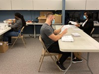 Monroe County elections workers begin marathon absentee ballot count