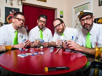 The Isotopes combines surf music and Santa in its 2020 Christmas show Saturday