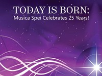 Musica Spei celebrates its 25th anniversary with the holiday album 'Today Is Born'