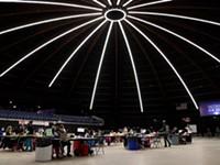 Dome Arena COVID-19 vaccination site opens in Henrietta