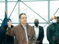 Cuomo is business as usual as calls for his removal mount