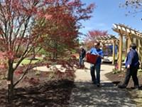 Highland Park's Remember Garden blossoms