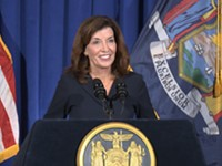 Cuomo makes his exit, Hochul to be sworn in as governor