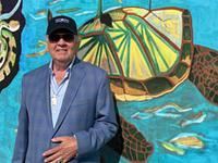 'Water is Life' mural by Seneca artist installed on the Genesee