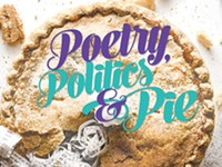 Poetry, politics, and pie