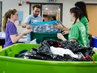 RIT students target dorm debris