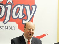 Assembly member Bill Nojay has died