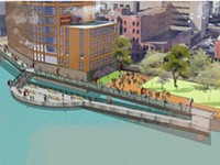 Public hearing on Genesee River development