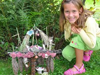 MUSEUM | Fairy Houses Award Winner Display