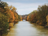 Plan to remove trees along canal delayed