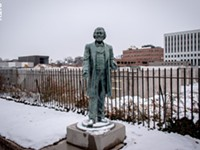 Frederick Douglass statue damaged; police arrest two