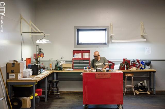 [ Slideshow ] Makerspace
