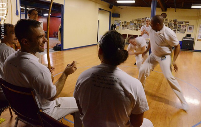 a history of capoeira a brazilian martial art Capoeira is a brazilian martial art that combines elements of dance and music.