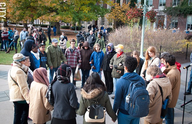 Not My America Protest at University of Rochester