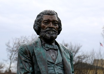 Douglass statue on Alexander is replaced