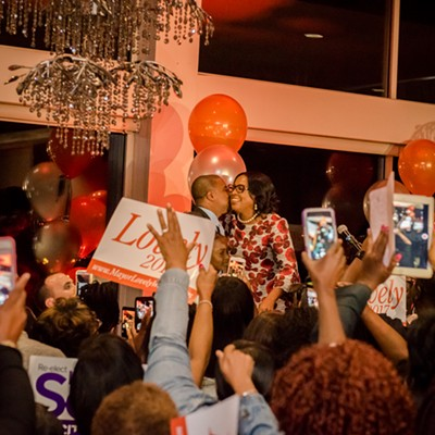 Mayor Lovely Warren's 2017 Democratic primary victory party