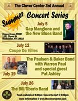Clover Center Summer Concert Series - Uploaded by The Clover Center for Arts & Spirituality