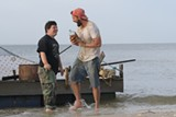 "PHOTO COURTESY ROADSIDE ATTRACTIONS - Zack Gottsagen and Shia LaBeouf - in ""The Peanut Butter Falcon."""