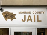 PHOTO BY DAVID ANDREATTA - The Monroe County Jail currently charges more for inmates to make a phone call than almost anywhere in the state.