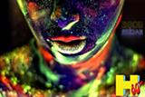 Neon Face - Uploaded by Abe Watson