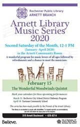 Arnett Library Music Series 2020 - Uploaded by brucetehan