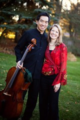 The Ying-Freer Duo appears at The College at Brockport on Thursday, March 12. - Uploaded by Stuart Ira Soloway
