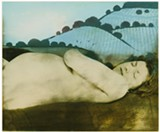 Bea Nettles (American, b. 1946). Seventh Month, 1978, from Flamingo in the Dark. Gum bichromate print with applied color. George Eastman Museum, gift of the artist. © Bea Nettles - Uploaded by ekozlowski