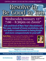 Resolve to Be Good to You Program - Uploaded by Lib