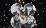 The Salaff Quartet: Thomas Rodgers (top left), Aika Ito (top right), Molly McDonald (bottom left), Benjamin Krug (bottom right) - Uploaded by Society for Chamber Music in Rochester