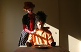 Crystal Z Campbell, A Dark Love Story for Clowns, 2009. Courtesy of the Artis - Uploaded by Almudena Escobar López