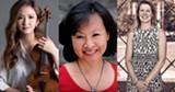 Violinist YooJin Jang, cellist Mimi Hwang, and pianist Elinor Freer - Uploaded by Hochstein School