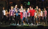"The touring company of ""American Idiot."" - PHOTO BY LITWIN"
