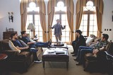 """PHOTO COURTESY WARNER BROS. - Jerry - Ferrara, Kevin Connolly, Jeremy Piven, Adrian Grenier, and Kevin Dillon in - """"Entourage."""""""