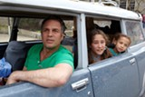 "PHOTO COURTESY SONY PICTURES CLASSICS - Mark Ruffalo, Imogene Wolodarsky, - and Ashley Aufderheide in ""Infinitely Polar Bear."""