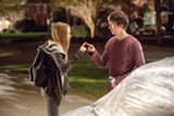 """PHOTO COURTESY 20TH CENTURY FOX - Cara - Delevingne and Nat Wolff in """"Paper Towns."""""""