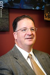PHOTO BY MARK CHAMBERLIN - Mark Peterson, president and CEO of Greater Rochester Enterprise.