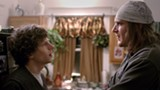 "PHOTO COURTESY A24 FILMS - Jesse Eisenberg and Jason Segel - in ""The End of the Tour."""