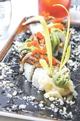 PHOTO BY MARK CHAMBERLIN - The Dragon Roll.