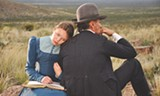 "PHOTO COURTESY THE CINEMA GUILD - Viggo Mortensen and Viilbjørk Malling Agger in ""Jauja."""