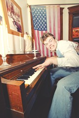 PHOTO BY FRANK DE BLASE - Austin Lake grew up wanting to be a stuntman, but got hooked on the music thing instead. His solo project name, Aweful Kanawful, is allegedly the name of Evel Knievel's cellmate.