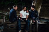 """PHOTO COURTESY THE ORCHARD - Mike Birbiglia, Jake Johnson, and Sam Rockwell in - """"Digging For Fire."""""""