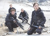 "PHOTO COURTESY LIONSGATE - Jennifer Lawrence and Liam Hemsworth in ""The Hunger Games: Mockingjay - Part 2."""