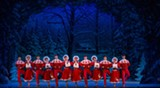 "PHOTO BY KEVIN WHITE - The Irving Berlin's ""White Christmas"" 2014 National Tour Company."